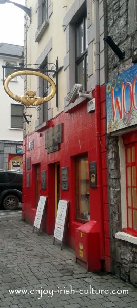 The oldest makers of the Claddagh ring are Dillon's Jewellers on Quay Street, Galway, Ireland.