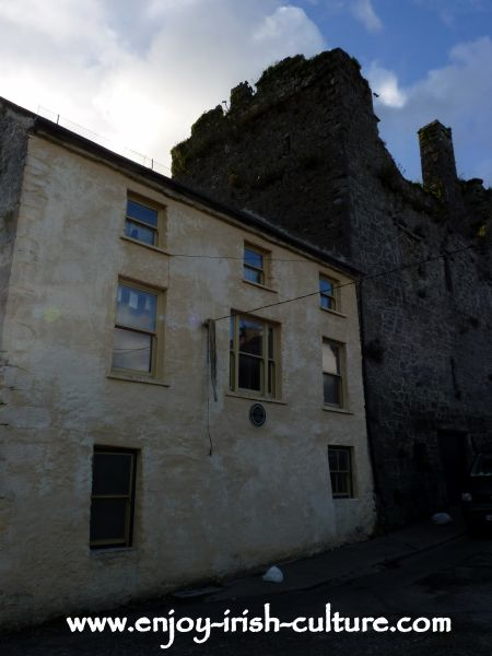 The 15th century Watergate House at Fethard, County Tipperary, Ireland.