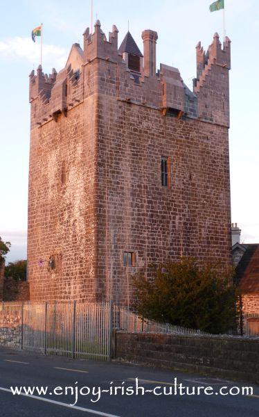 Claregalway Castle, County Galway, Ireland.