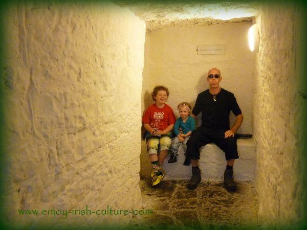 castles of Ireland, County Galway, garderobe