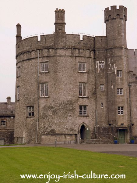 Kilkenny Castle, Ireland,  tower