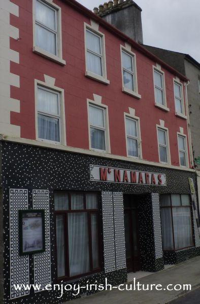 Boyle town, County Roscommon, Mac Namara's pub