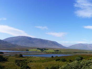 Connemara, County Galway, Ireland at Maam.