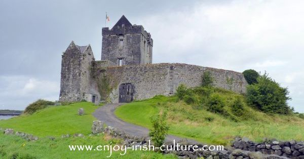 Dunguaire Castle, Kinvara, County Galway, Ireland.