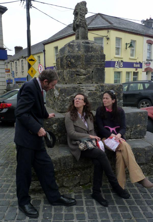 The oldest market cross in Ireland still left on location.
