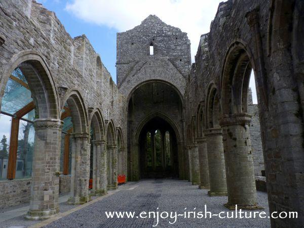 Abbey at Boyle, County Roscommon, Ireland- the church.