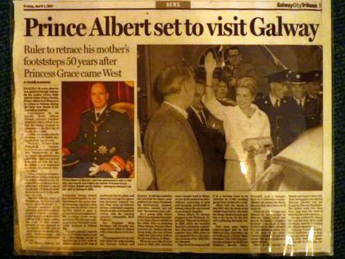 Prince Albert ordered wedding rings from Dillon's Jewellers on Quay Street, Galway, Ireland.
