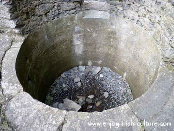 An ingenious medieval fishtank at Ross Abbey, Headford, County Galway.
