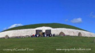 Newgrange passage tomb, County Meath, Ireland.