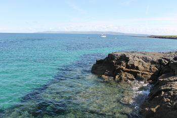 Inisheer seascape, Aran Islands, County Galway, Ireland.