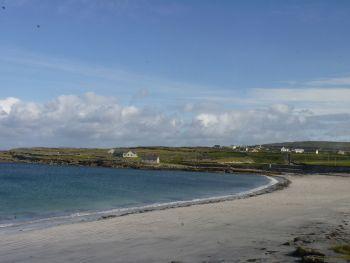 Aran Islands, Inis Mór, the beautiful Kilmurvey beach.