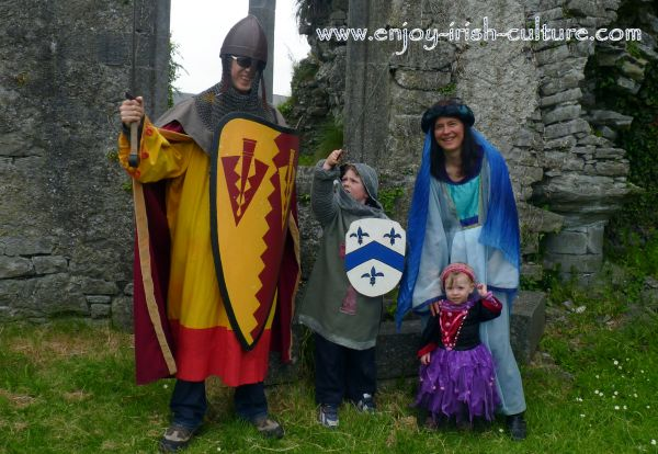 Athenry, Ireland, Heritage Centre medieval dress up