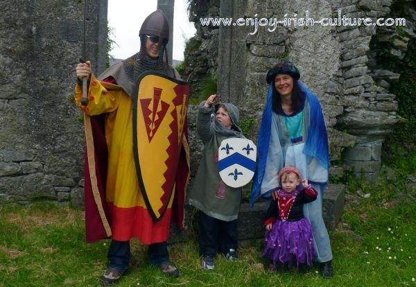 Athenry, Ireland, Heritage Centre medieval dress up