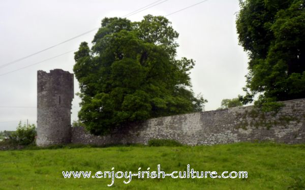 The medieval town wall.