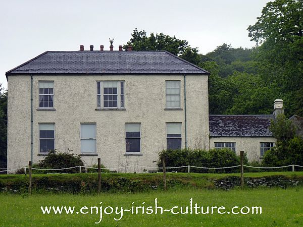 Bunratty House, County Clare, Ireland.