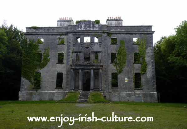 Moore Hall, County Mayo, Ireland.