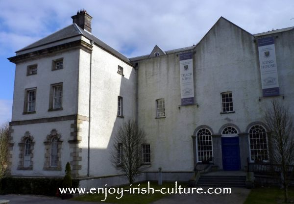 Residence of the aristocratic King family- King House, Boyle, County Roscommon, Ireland.
