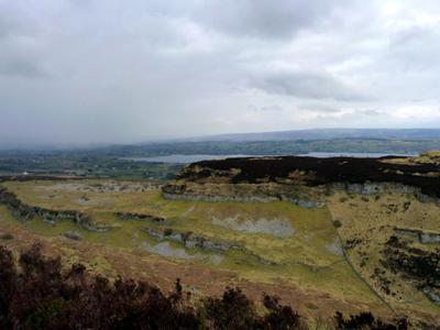 Ireland Travel,Stone age village remains near Carrowkeel