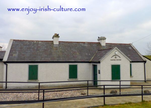 The visitor centre at Carrowmore, County Sligo, Ireland, is housed in this charming cottage.