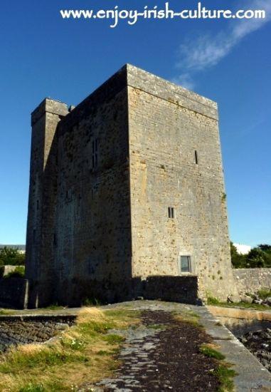 Oranmore Castle, County Galway, Ireland.