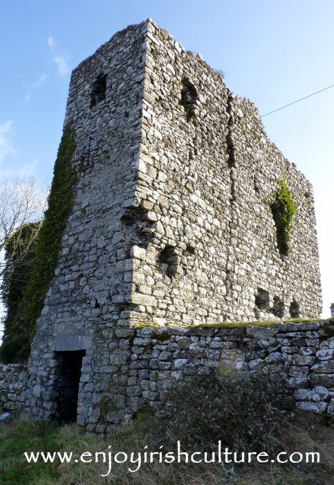 Annaghkeen Castle, County Galway, Ireland.
