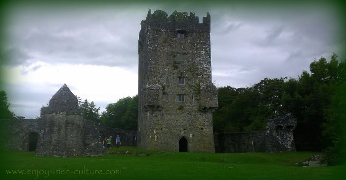 Aughnanure Castle, Oughterrard, County Galway, is one of the best medieval castles in Ireland.