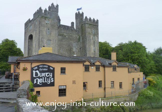 Bunratty Castle, County Clare, Ireland.
