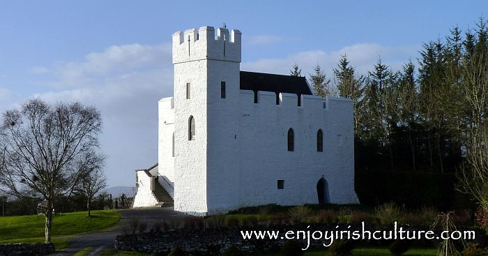 Cargin Castle, County Galway, Ireland.