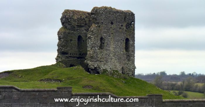 Clonbern Castle at Moylough,  County Galway, Ireland.