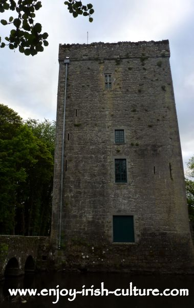 Yeats' Tower near Gort, County Galway, Ireland.