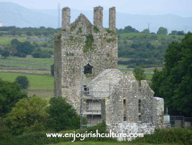Kinlough Castle, County Galway, Ireland.