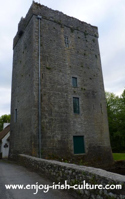 Thoor Ballylee or Yeats' Tower, County Galway, Ireland.