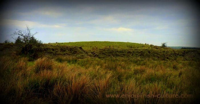 Rathnadarve fort at Tulsk, County Roscommon, Ireland was the scene of a major fight between two bulls in the Tain, a part of the Ulster Cycle.