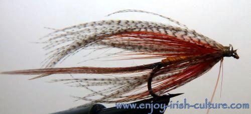 Irish fishing flies- a Gosling.