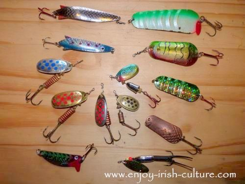 Try fishing for pike in Ireland with spoons and spinners.