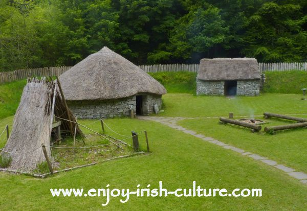 Heritage Museum at Craggaunowen, Quin, County Clare- the ringfort, a dwelling place of ancient Ireland from Celtic times right through the middle ages.