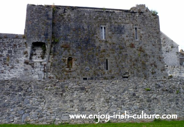 Medieval heritage of Ireland At Fethard- the 15th century Everard townhouse.