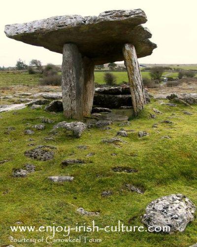 Poulnabrone Dolmen County Clare, Ireland.