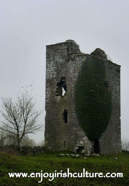 Ballindiff Castle, County Galway, Ireland.