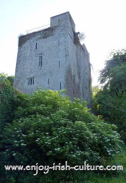 The Desmond Castle, Lough Gur, County Limerick, Ireland.