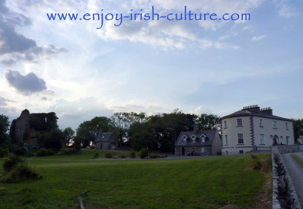 Irish Castles, Ballycurrin Castle and Ballycurrin House, County Mayo