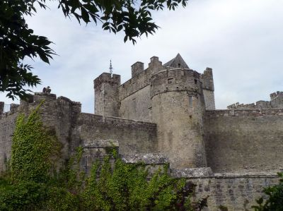 Cahir Castle, County Tipperary, Ireland.