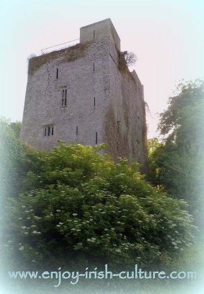 The Desmond Castle, County Limerick, Ireland.