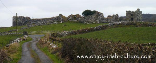 Moygara Castle, County Sligo, Ireland.