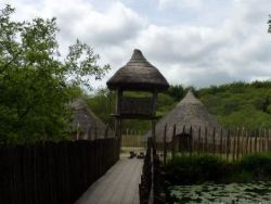 Irish culture-crannog of the ancient Celts
