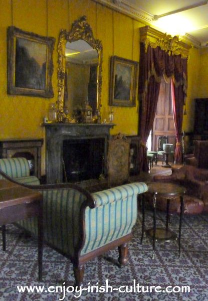 Drawing Room at Kilkenny Castle, Ireland.