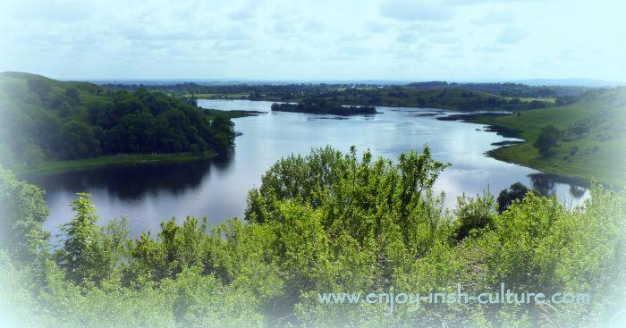 View across the lake.