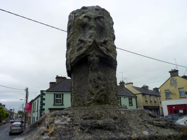 The medieval market cross at Athenry, County Galway, Ireland- the only market cross in the country still left in its' original location.