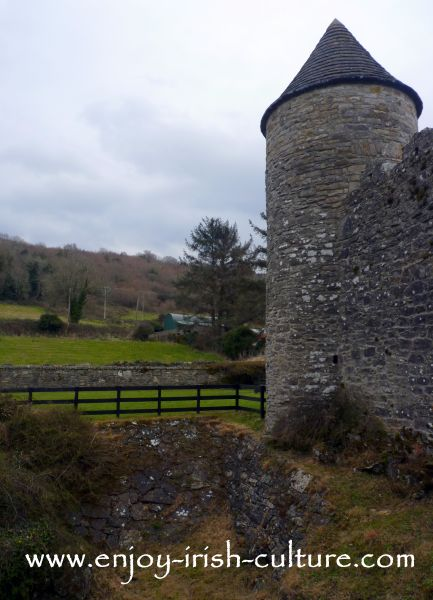 Pigeon tower at Parke's Castle County Leitrim, Ireland.