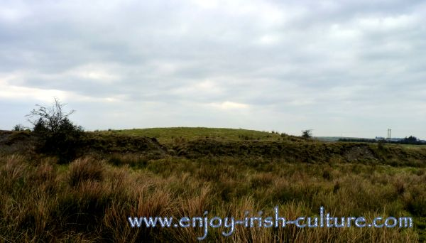 The ancient fort of Rathnadarve at ancient Ireland's Rathcroghan Royal Site at Tulsk, County Roscommon, Ireland.